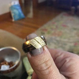 Custom made 18k ring